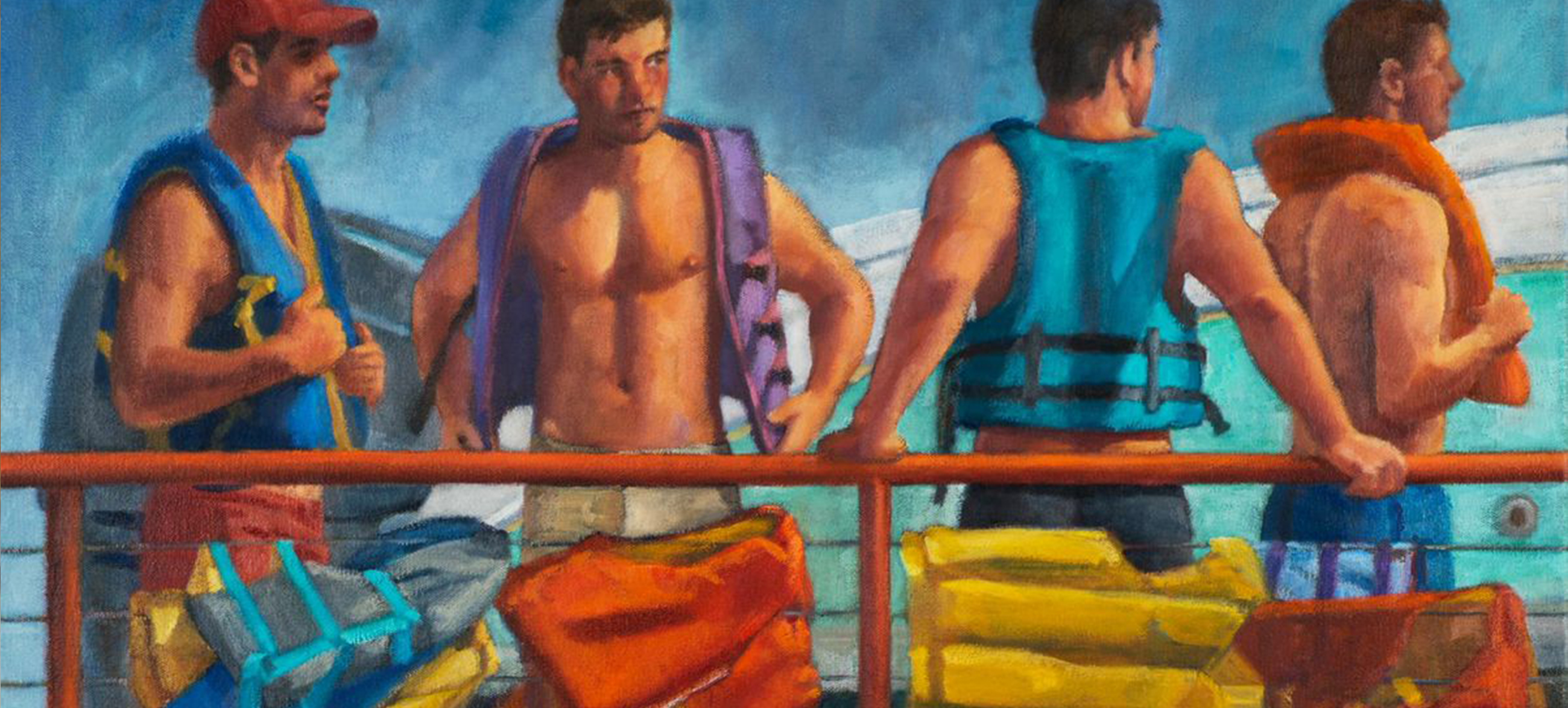 Robert Morgan, Boating Buddies