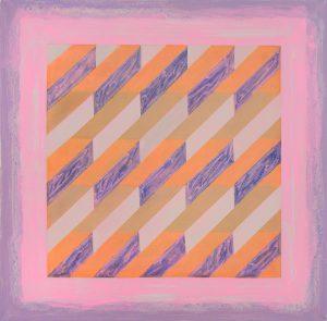 Velvet Sun 3, by Cathleen Daley, oil on linen, 28 x 28 inches